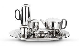 Tom Dixon Form Tee Set | Edelstahl 6-tlg.