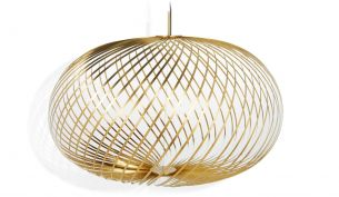 tom dixon spring pendant large brass