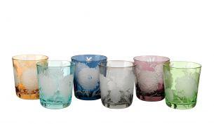 Pols Potten Glas Tumbler Peony | 6er Set