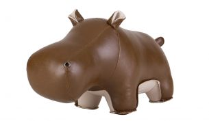 Züny Hippo Budy Bookend Brown Wheat