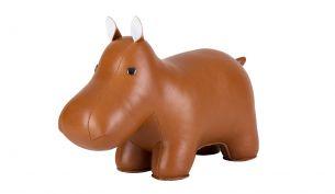 Züny Hippo Classic Doorstop Tan
