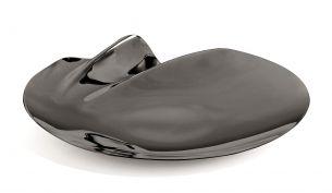 zaha hadid design serenity platter black large