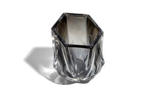 Zaha Hadid Design Shimmer tealight Holder | Silver