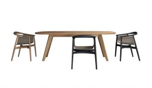 Zeitraum Cena Hyperelliptical Table Oak
