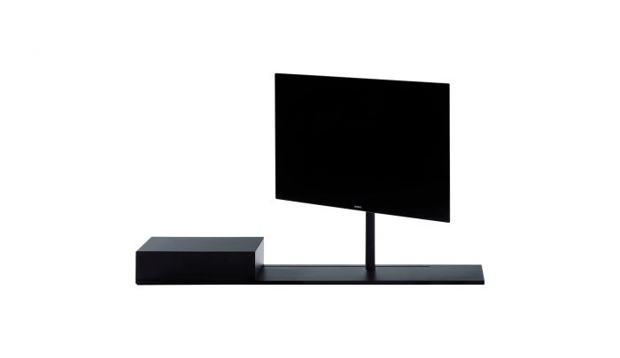 Desalto Porta Tv.Desalto Sail 302 B05 B06 Black With Storage Unit