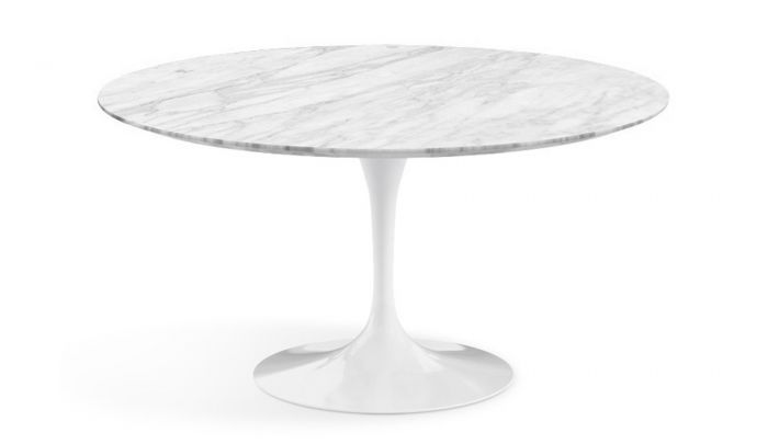Knoll International Saarinen Tulip Dining Table Round H73 X