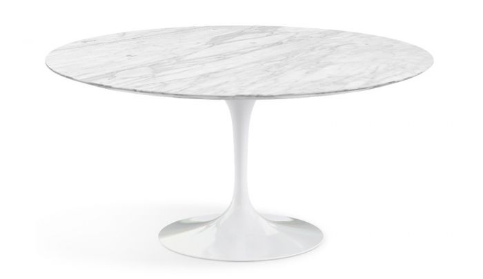 Knoll International Saarinen Tulip Dining Table Round Dopo Domani