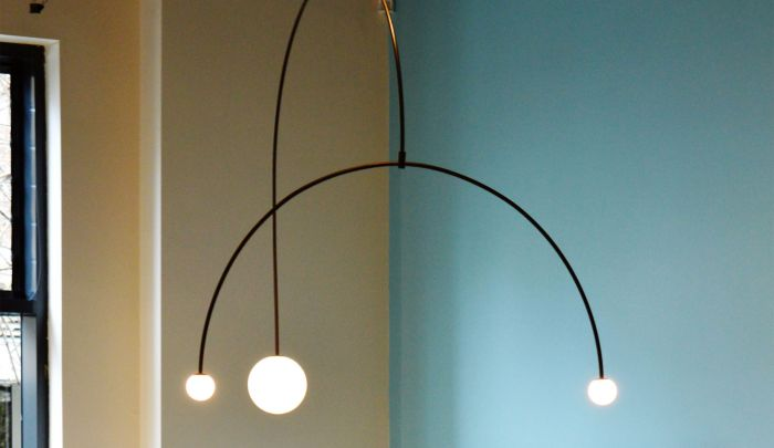 Michael Anastiades Mobile Chandelier