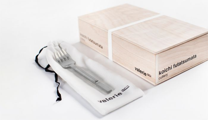 Valerie Objects Koichi Futatsumata Cutlery Gift Box Stainless Steel