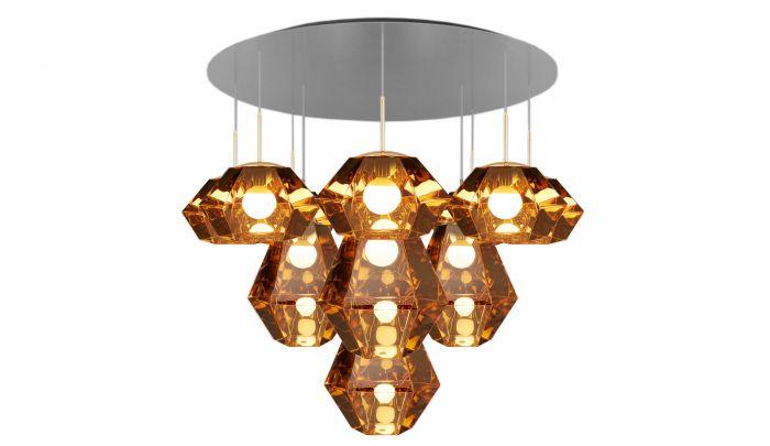 Tom Dixon Cut Mega Pendant Lamp Dopo