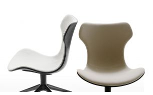 B&B Italia Papilio Shell Swivel Chair