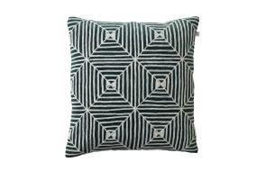 Chhatwal & Jonsson Kulgam Cushion | Creme / Green