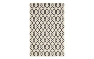 Chhatwal & Jonsson Mughal Rug Light Khaki / Dark Grey