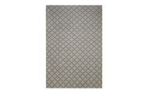 Chhatwal & Jonsson New Geometric Rug Light Grey / Grey