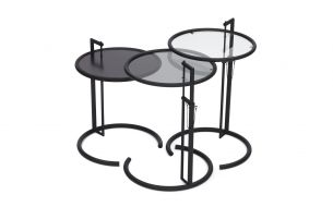 ClassiCon Adjustable E 1027 Side Table Black Version