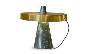 Edizioni Design ED039 Table Lamp | green-brass