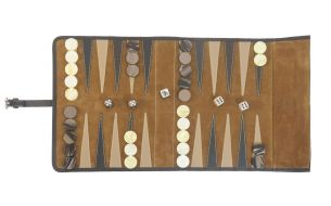 Hector Saxe Victor Backgammon Game | Travel Edition