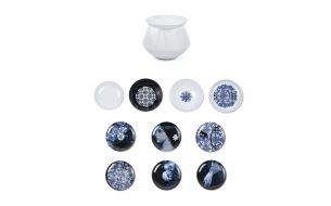 Ibride Luso Osorio | Set of Bowls and Dessert Plates