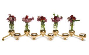 Klong Constella Big Tealight Holder / Vase | Brass