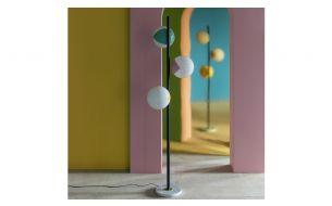 Magic Circus Éditions Pop-Up Floor Lamp | Slate Grey