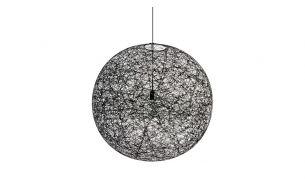 Moooi Random LED black suspension lamp