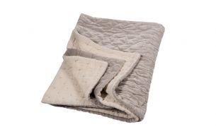 Niki Jones Velvet Linen Quilt |Oyster