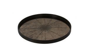 Notre Monde Bronze Slice Tablett | L