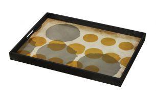 Notre Monde Sienna Layered Dots Tablett
