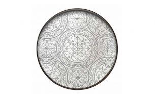 Notre Monde Moroccan Frost Mirror Tray | L