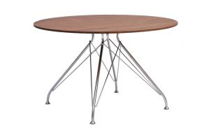 Overgaard & Dyrman Wire stool black whiskey