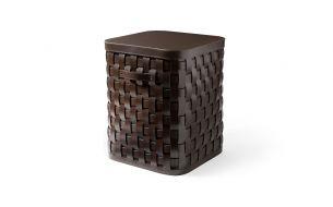 Pinetti Demetra Leather Basket