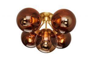 Roll & Hill Modo 5-Globes Deckenleuchte