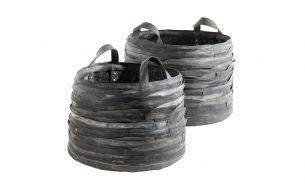 Serax Log Rubber Korb Set
