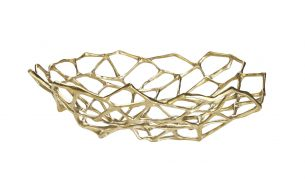 Tom Dixon Bone Bowl Groß Messing
