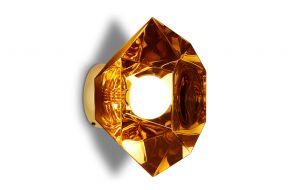 tom dixon cut pendant gold short on