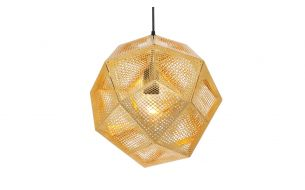 Tom Dixon Etch Brass pendant light