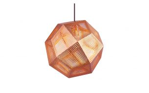 Tom Dixon Etch Copper pendant light