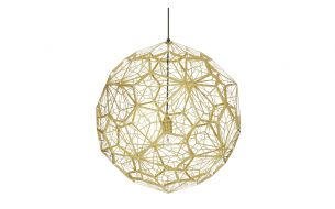 Tom Dixon Etch Web Pendant Lamp brass