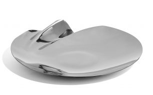 Zaha Hadid Design Serenity Platter Schale | Silber