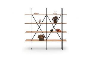 Zeus Noto Slim Irony Bookcase