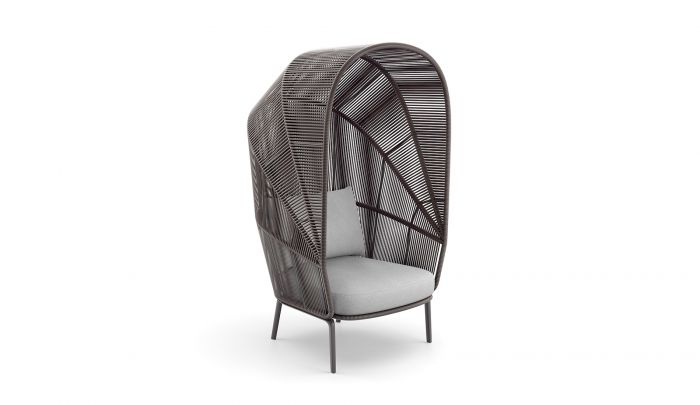 Dedon Rilly Cocoon Chair Rosewood Dopo Domani