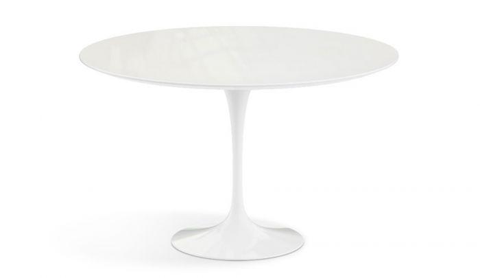 Knoll International Saarinen Tulip Dining Table Outdoor Round Dopo Domani