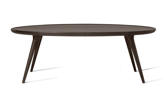 Mater Accent Oval Lounge Coffee Table H42 X W120 X D80 Cm Dopo Domani