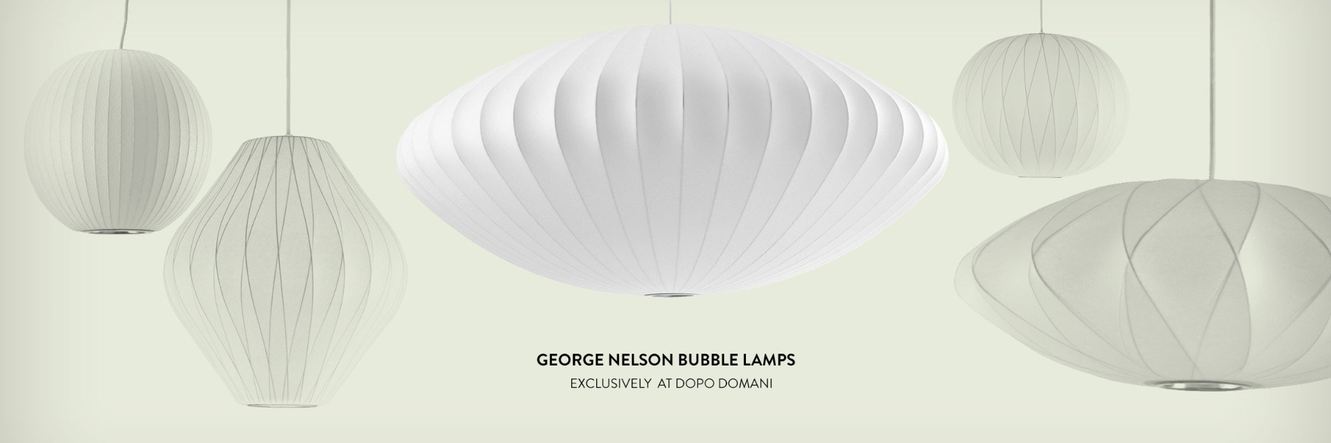 George Nelson Bubble Lamps